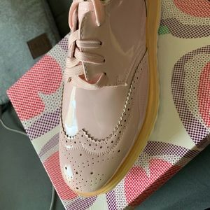 Brand new in box light pink loafers